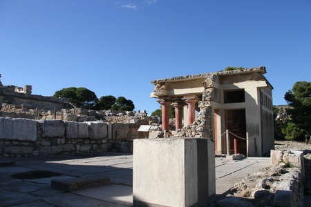 Images of  the City of Heraklion in Crete, Greece Banco de Imagens