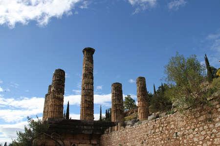 Oracle at Delphi, Greece,