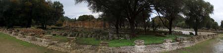 Olimpia, in Greece. Редакционное