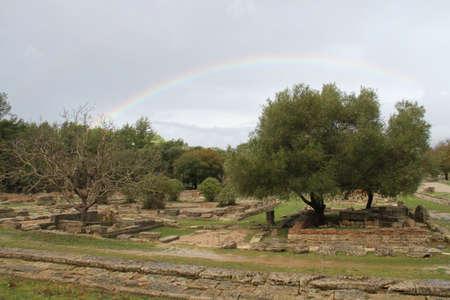Olimpia, in Greece Редакционное