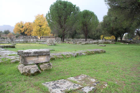Olimpia, in Greece. Фото со стока
