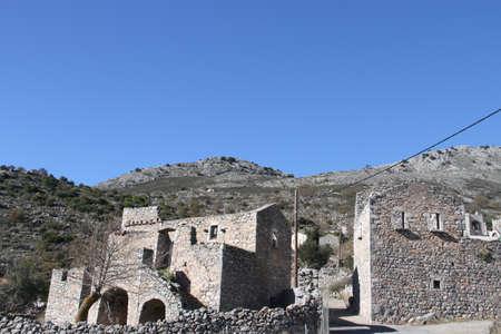 마니, 그리스에서 Pyrichos의 마을