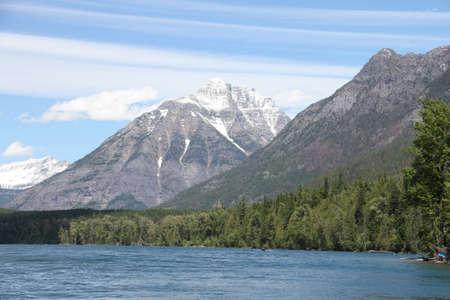 Inside Glacier National Park, Montana, USA
