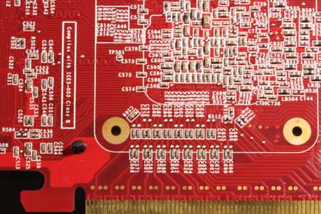 Close up of Electronic circuit board Reklamní fotografie