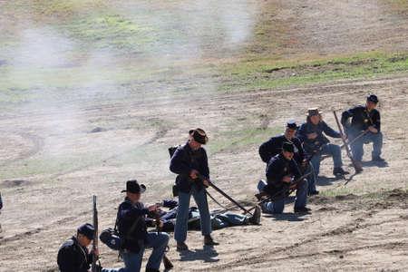 952019: Marysville, California: Civil War Reenactment 報道画像