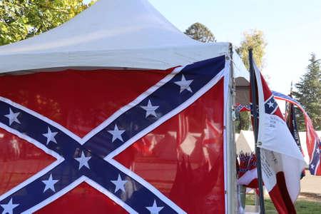 10192019: Fresno, California: Civil War Reenactment