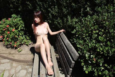 Photoshoot of a Asian model Archivio Fotografico - 133359241