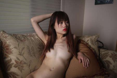 Photoshoot of a Asian model Archivio Fotografico - 133359247