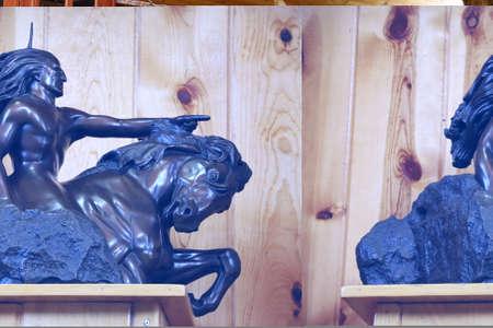 Crazy Hose, South Dakota: 071519: Native american museum to Crazy horse Editorial