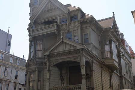 8-10-2021: San Francisco, California: Haas Lilenthal house, historic victorian house