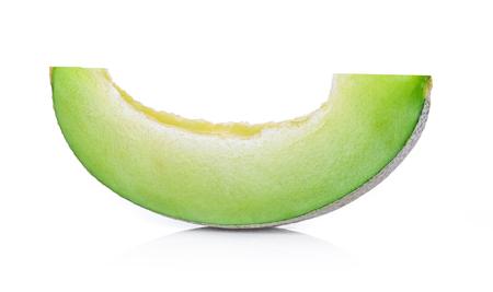 Cantaloupe: melon isolated on white background Stock Photo