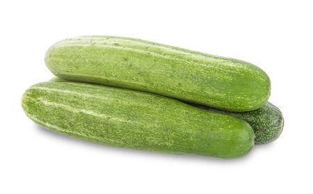 cucumber isolated on white background Standard-Bild