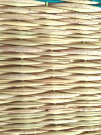 weave: The mat is brown  Stock Photo