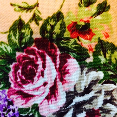 canvas: Rose painting on canvas