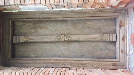 liturgy: 300 year old wooden church at Khok Phai, Nakhon Ratchasima, Thailand