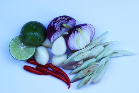Thailand herbs as a garnish
