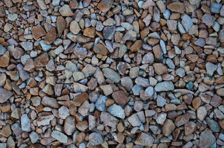 Small stones background Stock Photo