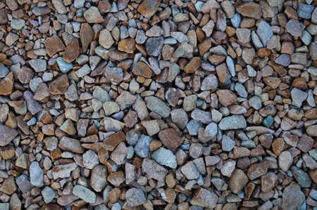 Small stones background Stock Photo