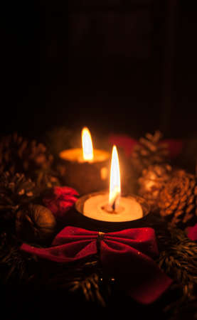 Advent Candles Stock Photo - 16753758