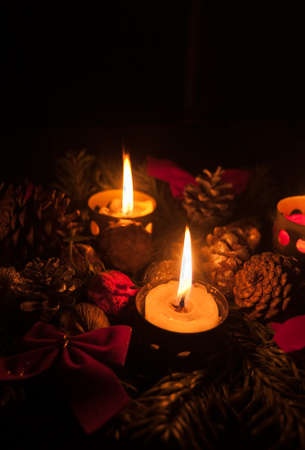 Advent Candles Stock Photo - 16757356