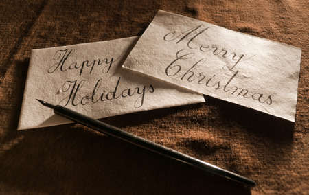 Vintage Greeting Cards Stock Photo - 16757407