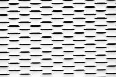Hollow metal texture  Stock Photo