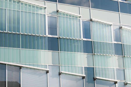 Multistory building windows Stock Photo