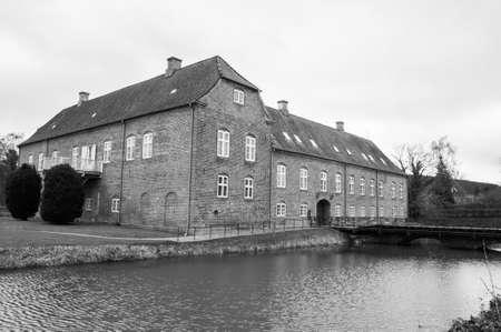 listed buildings: Boller Castle - Horsens, Denmark Editorial