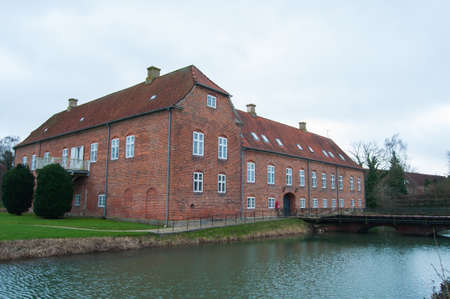 Boller Castle - Horsens, Denmark Editorial