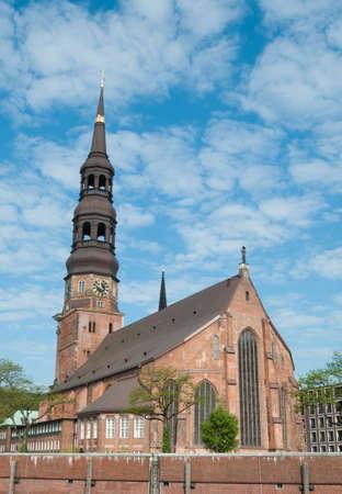 St. Catherine Church - Germany, Hamburg Stock Photo