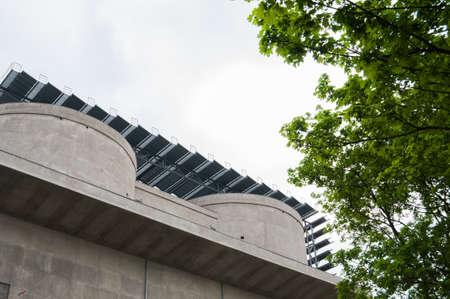 repurpose: Sustainable architecture Stock Photo