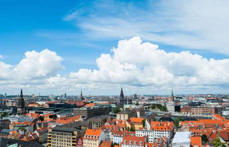 Copenhagen Cityscape 3 Stock Photo