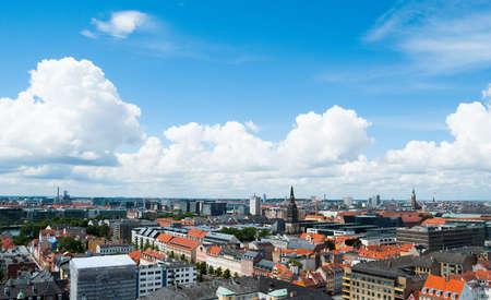 Copenhagen Cityscape 2 Stock Photo