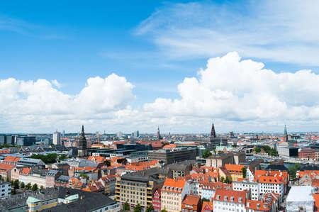 Copenhagen Cityscape 1 Stock Photo