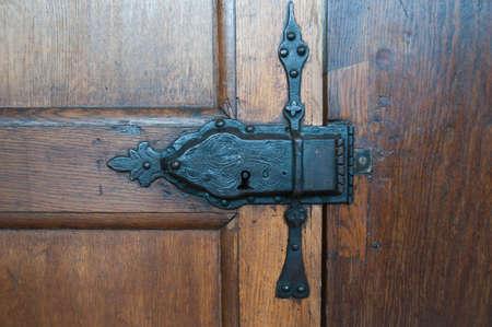 puertas antiguas: Bloqueo antiguo