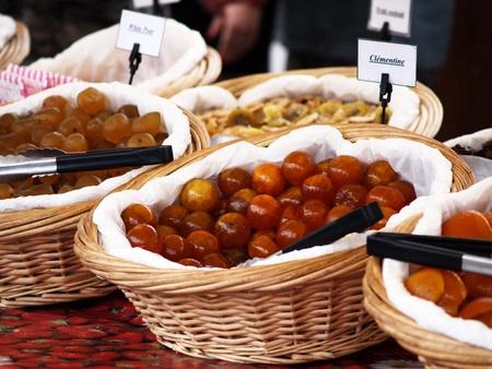 clementine fruit: Fresh clementine fruit Stock Photo