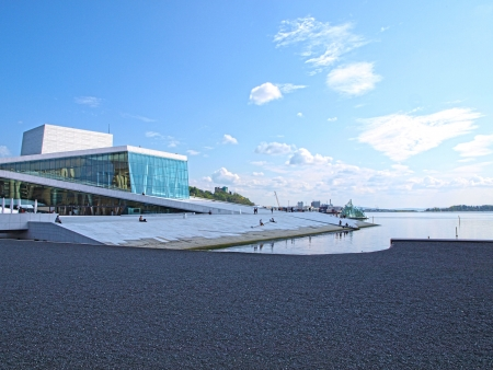 Opera house Oslo, Norway