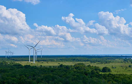 powered: windmill powered plant, Estonia Paldiski, 02 Jul 2016