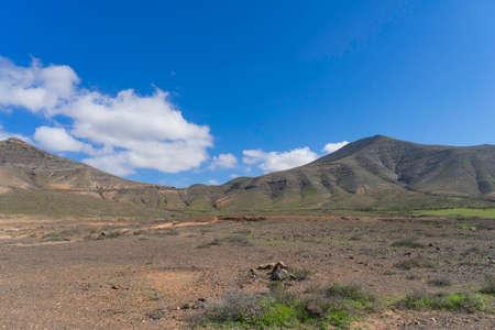 Beautiful rocks landscape in Canaries islands  Stock Photo