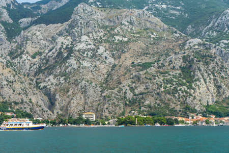 Beautiful Landscape and Sea in Montenegro Stock Photo