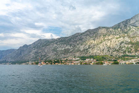 Beautiful Landscape and Sea in Montenegro Stock Photo
