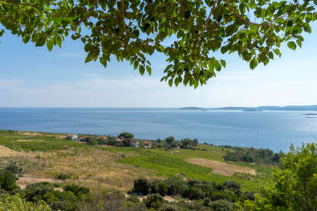 Beautiful Landscape and Sea in Croatia Stock Photo - 107836821