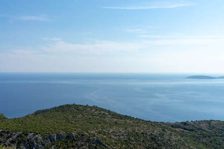 Beautiful Landscape and Sea in Croatia Stock Photo - 107836825