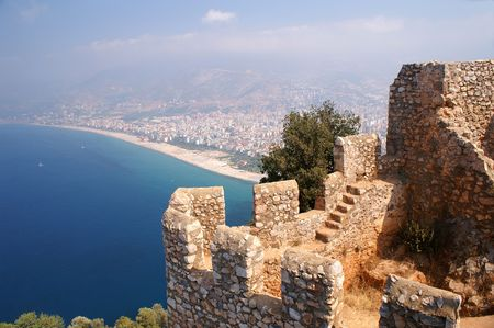 Ancient City Fortifications Stock Photo - 3097287