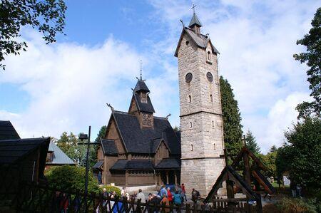 12th century: The Wang Chapel, 12th century Norwegian church,