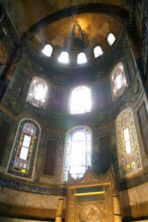 sophia: Hagia Sophia in Istanbul, Turkey. Built between 532-537 AD
