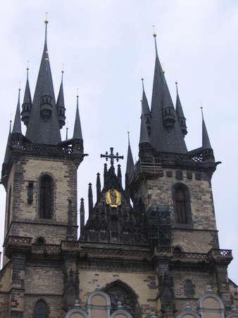 Prague, Old Town Square Banco de Imagens