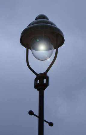 Lamp with light filter