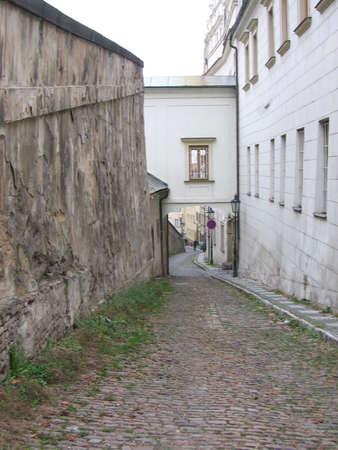Lonely Street_Prague Banco de Imagens - 275901