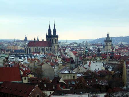 Winter Prague Banco de Imagens